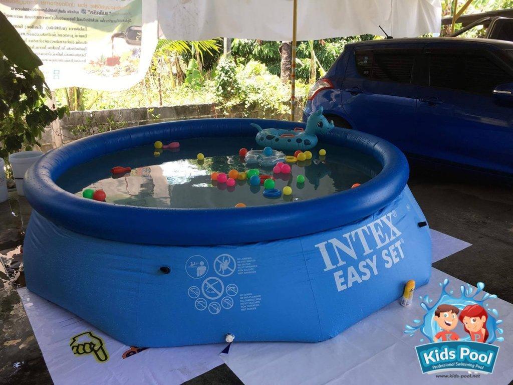 สระน้ำเป่าลม Intex Easy Set 10 ฟุต 0016