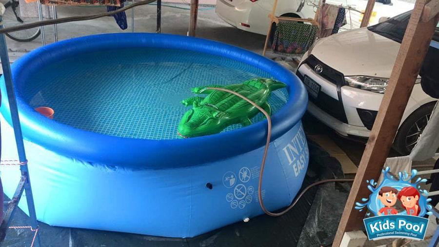 สระน้ำเป่าลม Intex Easy Set 12 ฟุต 002
