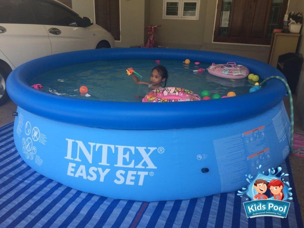 สระน้ำเป่าลม Intex Easy Set 12 ฟุต 0029