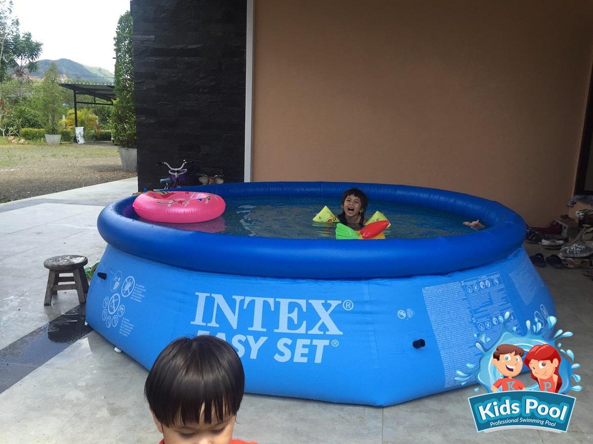 สระน้ำเป่าลม Intex Easy Set 12 ฟุต 006