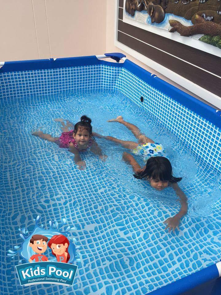 สระว่ายน้ำสำเร็จรูป Intex Metal Frame 0011