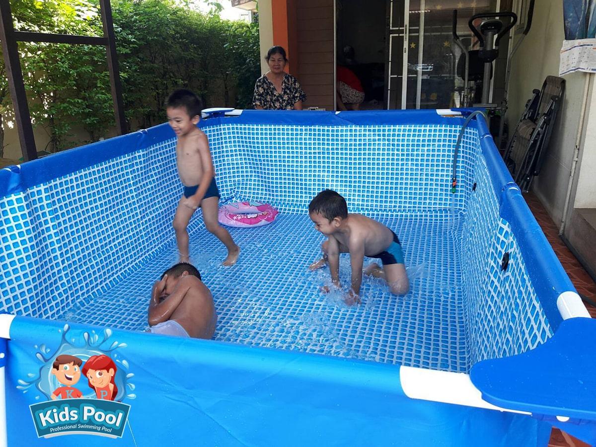 สระว่ายน้ำสำเร็จรูป Intex Metal Frame 0021