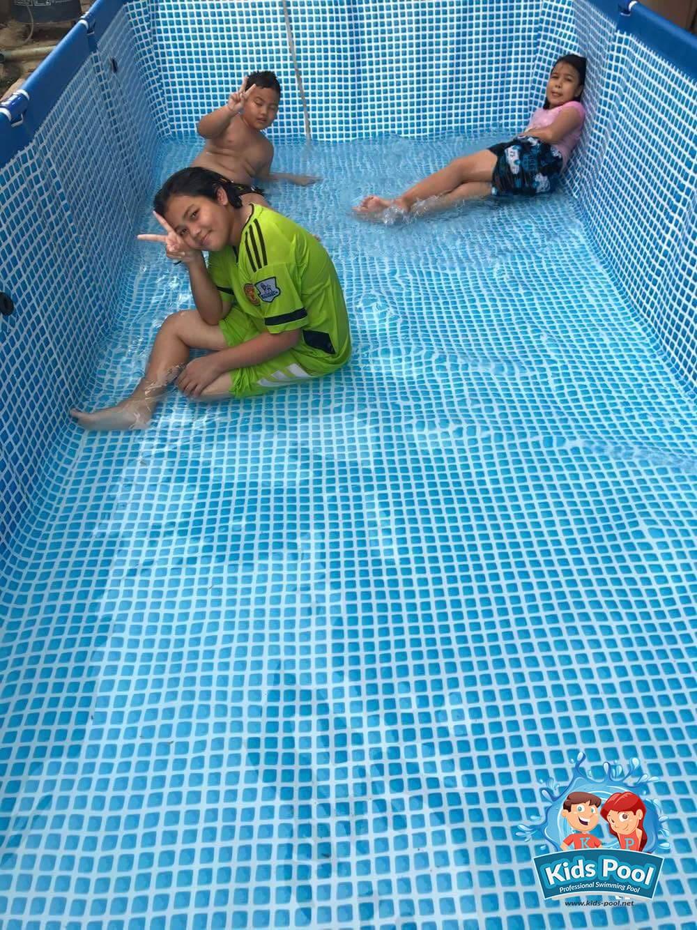 สระว่ายน้ำสำเร็จรูป Intex Metal Frame 0025