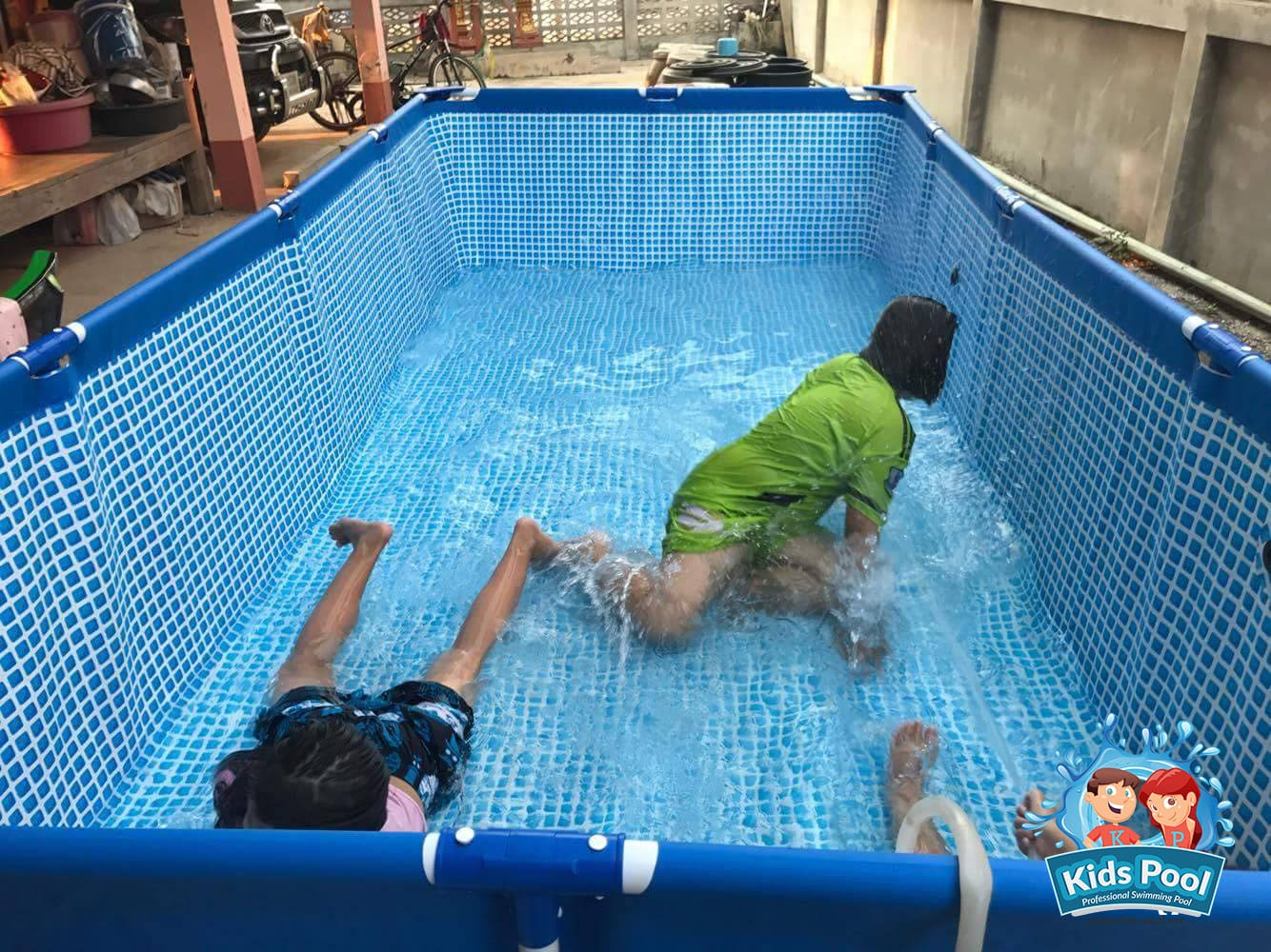 สระว่ายน้ำสำเร็จรูป Intex Metal Frame 0026