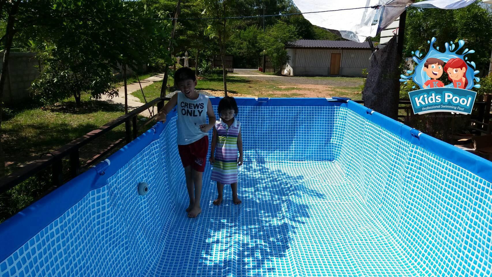 สระว่ายน้ำสำเร็จรูป Intex Metal Frame 0029