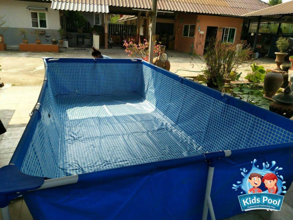 สระว่ายน้ำสำเร็จรูป Intex Metal Frame 0038