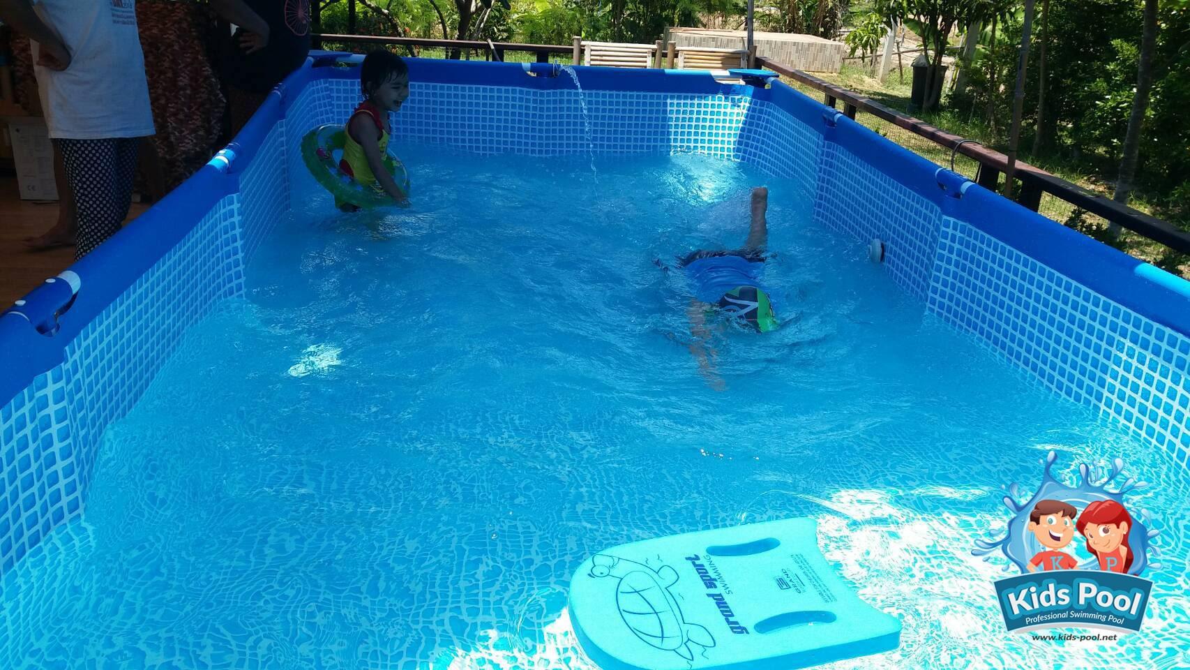 สระว่ายน้ำสำเร็จรูป Intex Metal Frame 0039