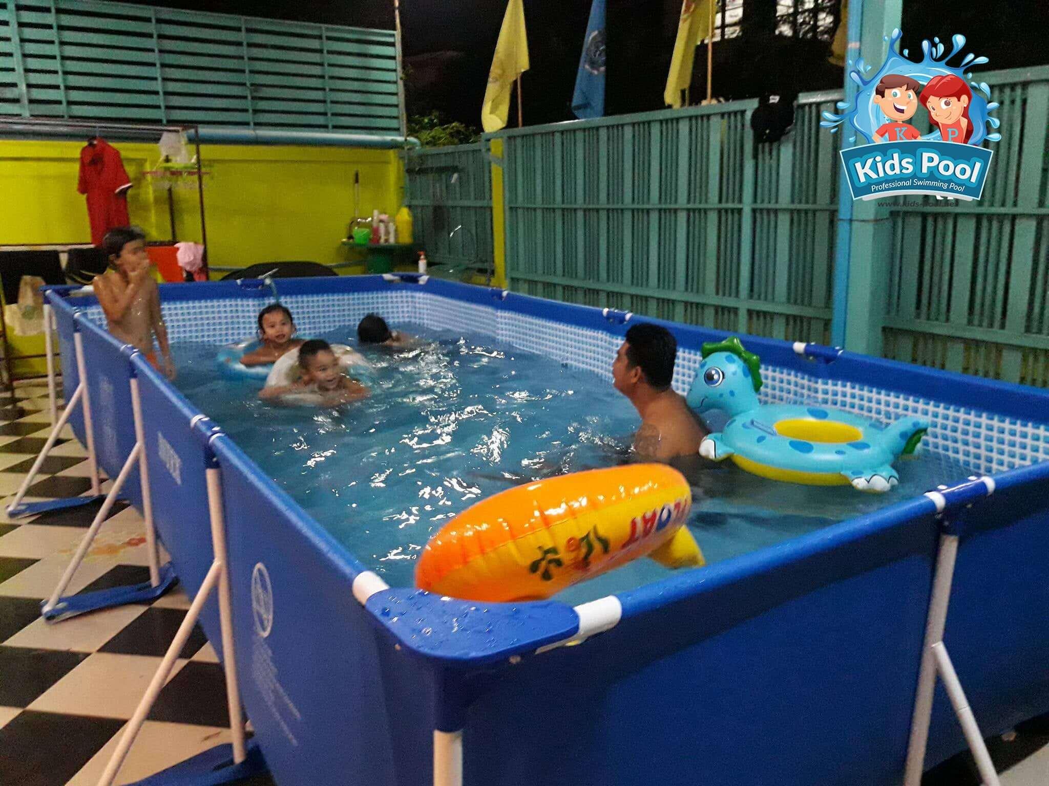 สระว่ายน้ำสำเร็จรูป Intex Metal Frame 0058