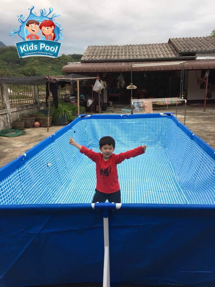 สระว่ายน้ำสำเร็จรูป Intex Metal Frame 0061