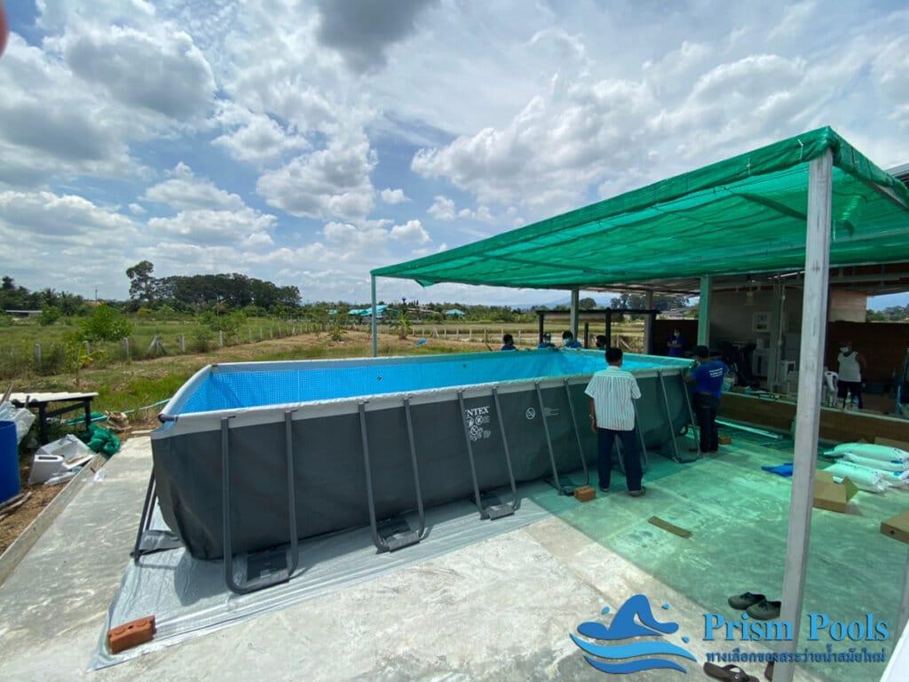 สระว่ายน้ำ intex Ultra XTR 24 ฟุต 26368 - 8