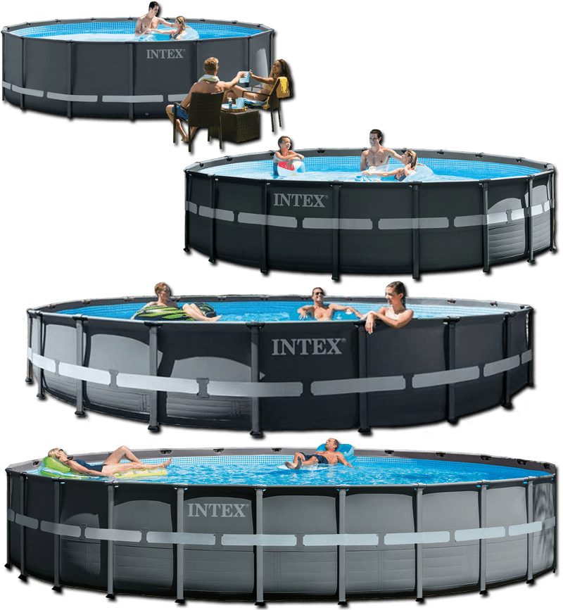 รวมรุ่น สระว่ายน้ำสำเร็จรูป Ultra XTR Round