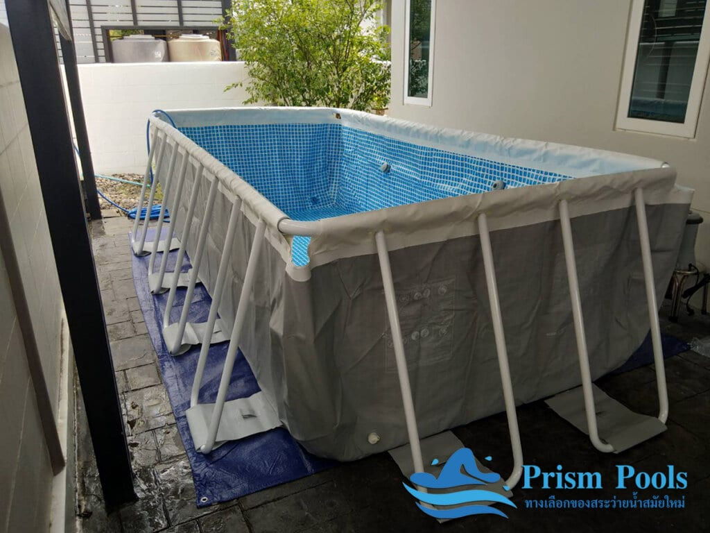 สระว่ายน้ำ intex Prism Rectan 13 - 3