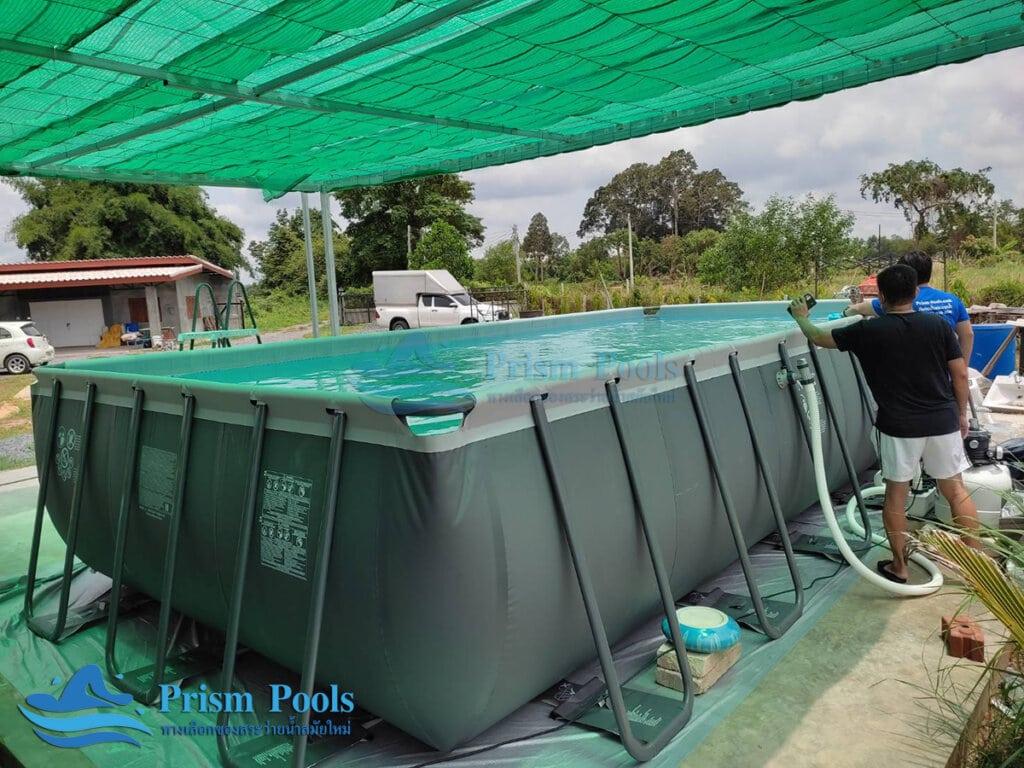 สระว่ายน้ำ intex Ultra XTR 24 ฟุต 26368 - 1