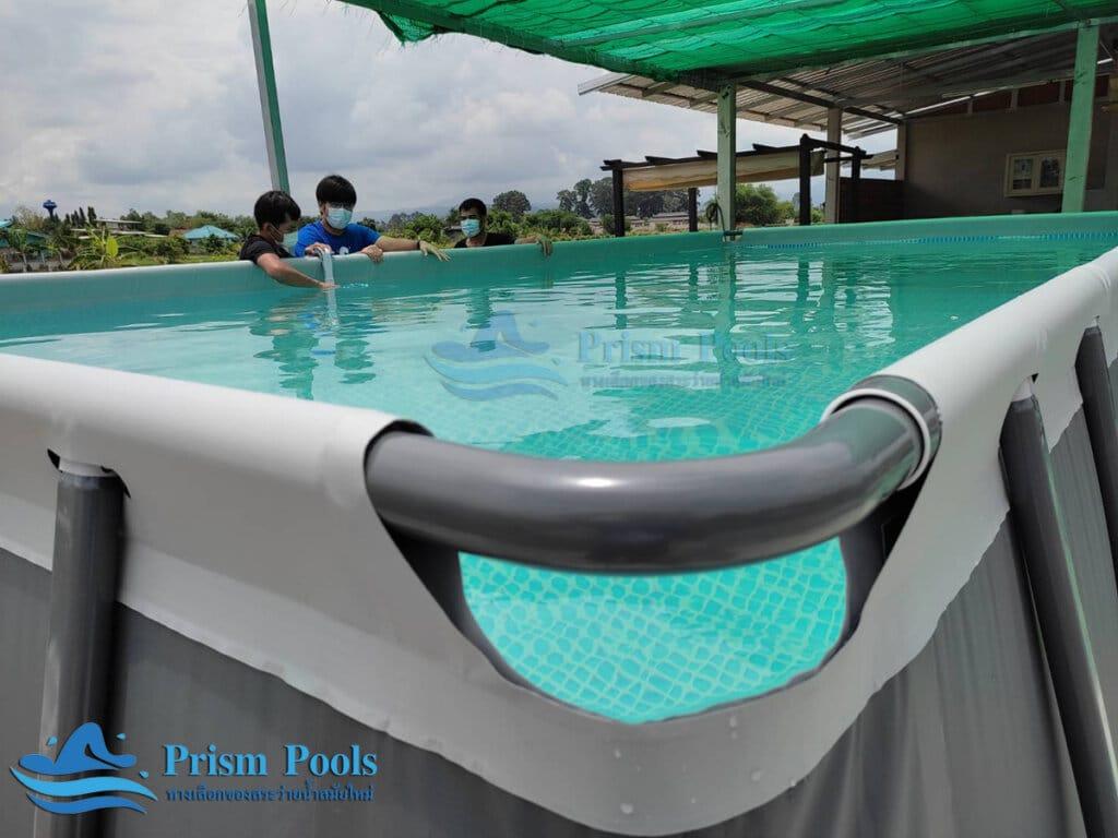 สระว่ายน้ำ intex Ultra XTR 24 ฟุต 26368 - 2