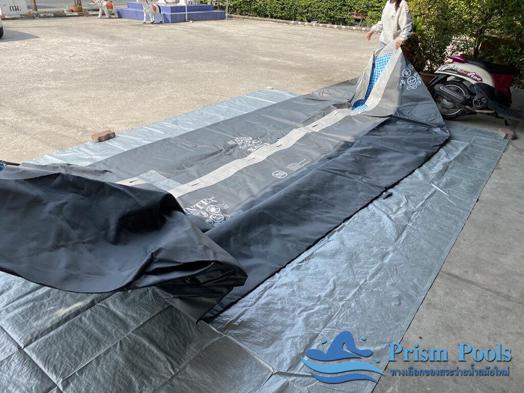 สระว่ายน้ำ intex Ultra XTR 18 ฟุต 26356 - 1