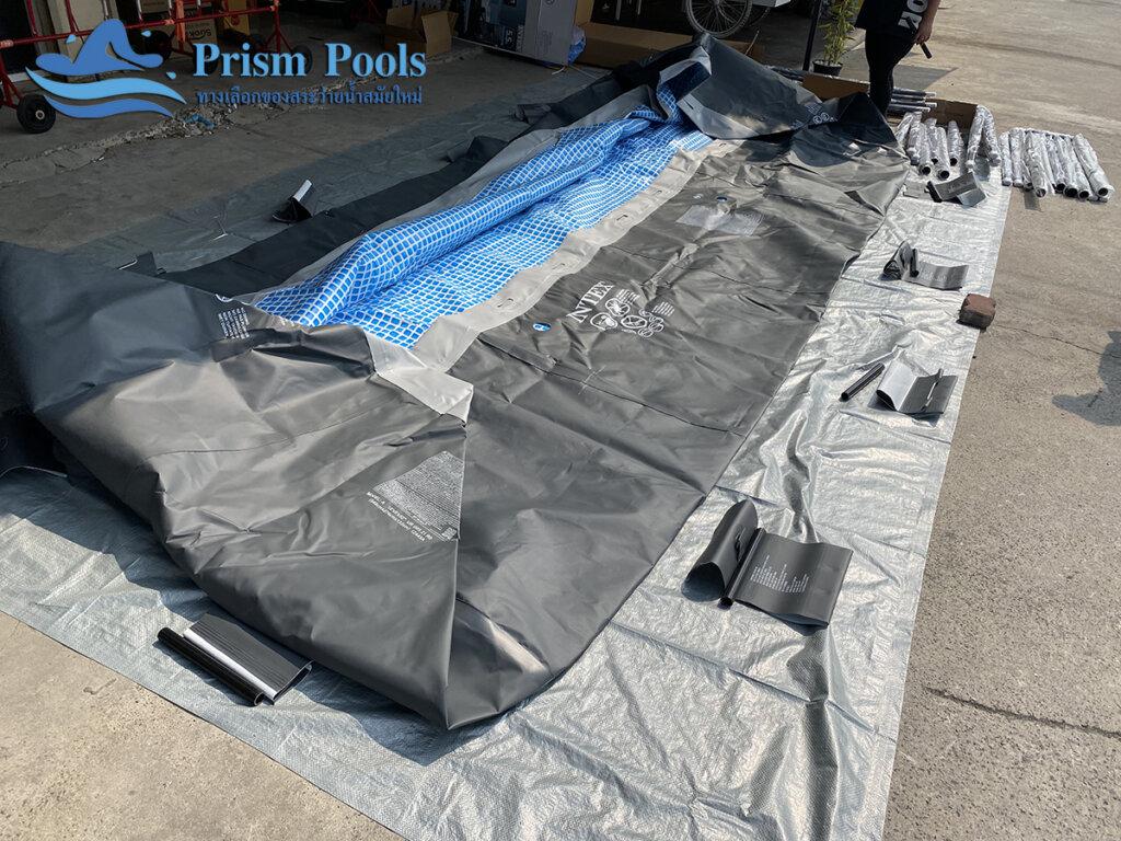 สระว่ายน้ำ intex Ultra XTR 18 ฟุต 26356 - 3