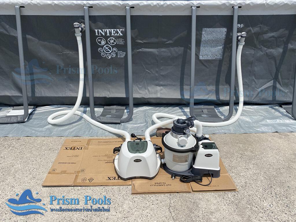 สระว่ายน้ำ intex Ultra XTR 18 ฟุต 26356 - 9