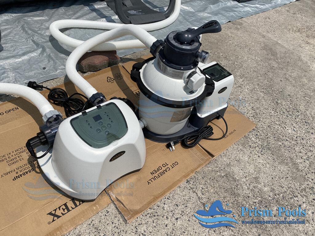 สระว่ายน้ำ intex Ultra XTR 18 ฟุต 26356 - 10