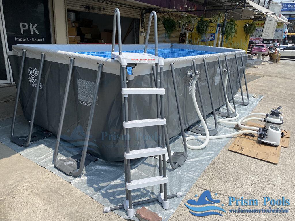 สระว่ายน้ำ intex Ultra XTR 18 ฟุต 26356 - 11