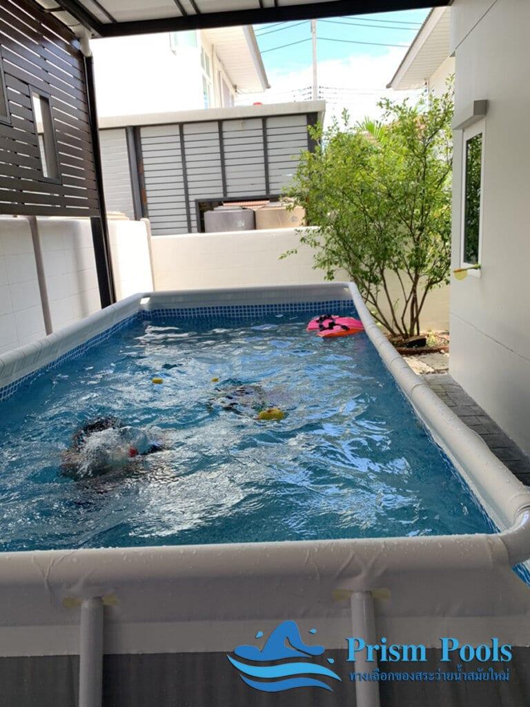 สระว่ายน้ำ intex Prism Rectan 13 - 6